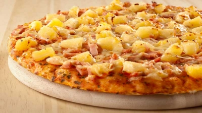 Coming Pizza Wernigerode Pizza Hawaii klein